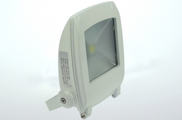 Design LED-Flutlichtstrahler AC 900 Lumen 120°-150° kaltweiss 11W Strukturiertes Glas Green-Power-LE