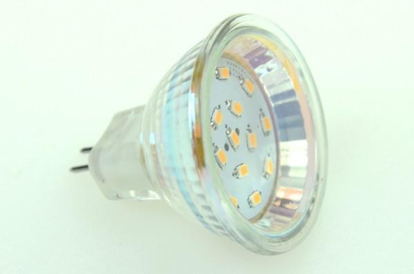 GU4 LED-Modul LED15SU4L Niedervolt DC-kompatibel (gleichstrom-fähig) warmweiss (2700°K) dimmbar, CRI>95. Einsetzbar im Spannungsbereich: 10-18V AC