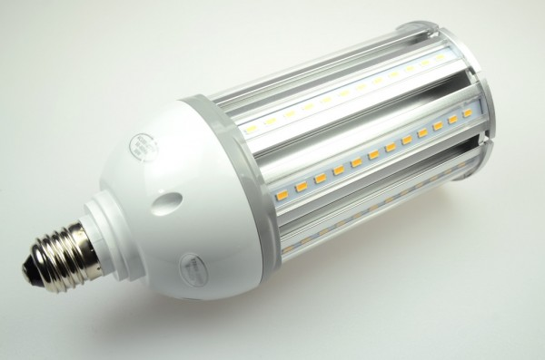 E27 LED-Tubular LED108Tu27LoKW Hochvolt kaltweiss (6000°K) IP64. Einsetzbar im Spannungsbereich: 100-277V AC