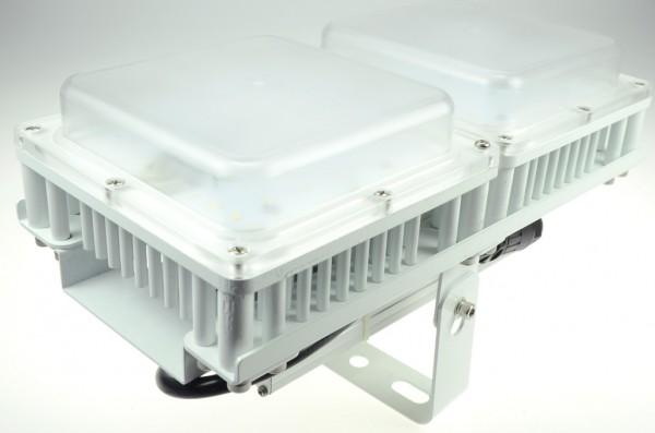 LED-Hallentiefstrahler Hochvolt DC-kompatibel (gleichstrom-fähig) LED100HM22LoKW kaltweiss (5500°K) Nichia LED. Einsetzbar im Spannungsbereich: 90-305V AC 127-350V DC
