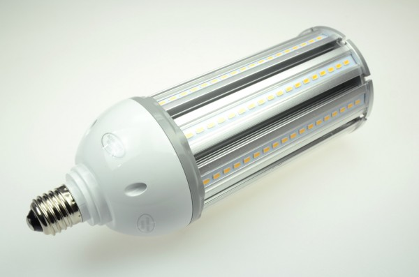 E27 LED-Tubular LED162Tu27Lo Hochvolt warmweiss (3000°K) IP64. Einsetzbar im Spannungsbereich: 100-277V AC