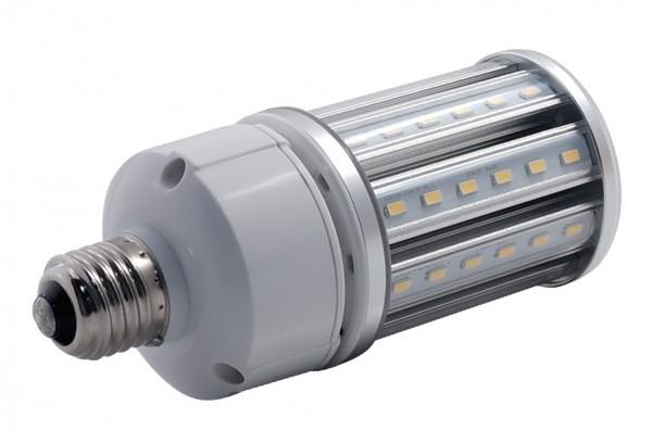 E27 LED-Tubular LED54Tu27Lo Hochvolt DC-kompatibel (gleichstrom-fähig) warmweiss (3000°K) IP64, 4KV, AC/DC. Einsetzbar im Spannungsbereich: 100-277V AC