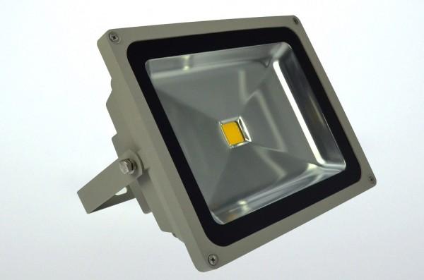 LED-Flutlichtstrahler Hochvolt LED50F22Lgeo gelb (570-590Nm°K) . Einsetzbar im Spannungsbereich: 100-240V AC