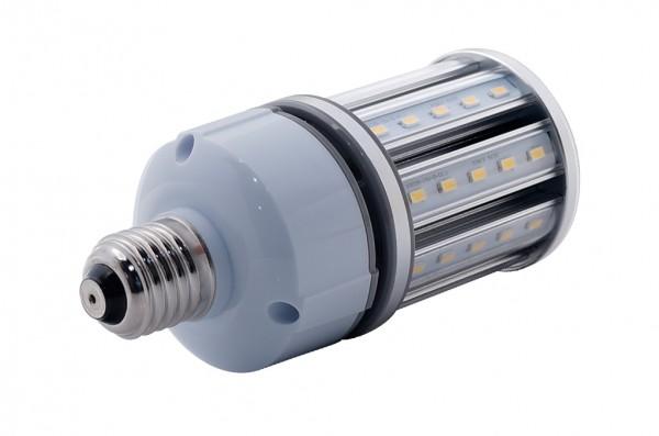 E27 LED-Tubular LED45Tu27Lo Hochvolt DC-kompatibel (gleichstrom-fähig) warmweiss (3000°K) IP64. Einsetzbar im Spannungsbereich: 100-277V AC