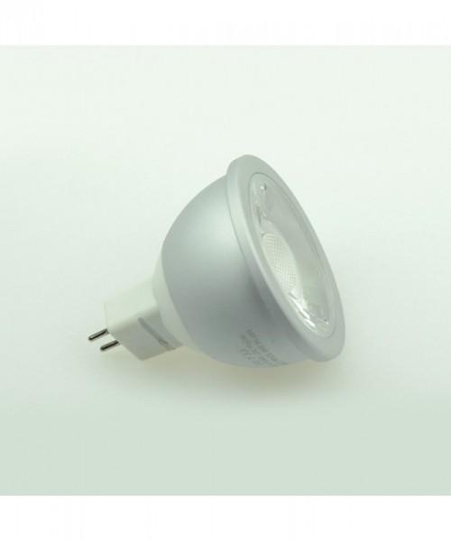 GU5.3 LED-Spot PAR16 LED1x6S53SDNW Niedervolt DC-kompatibel (gleichstrom-fähig) neutralweiss (4000°K) Dimmbar, CRI>90. Einsetzbar im Spannungsbereich: 12V AC