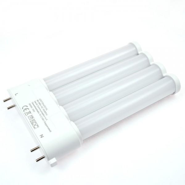 2G10 LED-Kompaktlampe LED72Ko2G10L Hochvolt warmweiss (3000°K) internes Netzteil. Einsetzbar im Spannungsbereich: 85-277V AC