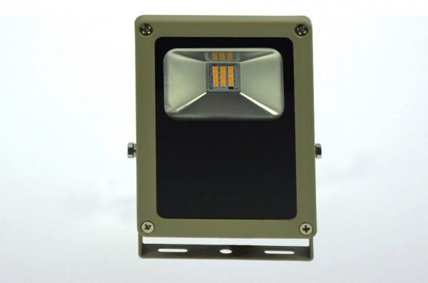 LED-Flutlichtstrahler Hochvolt DC-kompatibel (gleichstrom-fähig) LED12Fx22Lo warmweiss (2700-3000°K) flache Bauweise. Einsetzbar im Spannungsbereich: 100-240V AC 120-230V DC