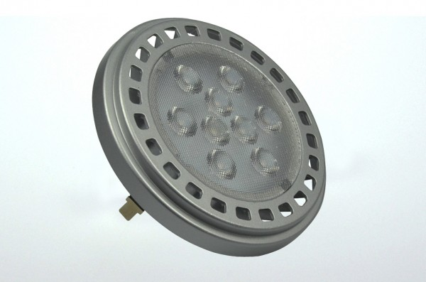 G53 LED-Spot AR111 LED9x1ASNW Niedervolt DC-kompatibel (gleichstrom-fähig) neutralweiss (4200°K) -. Einsetzbar im Spannungsbereich: 12V AC