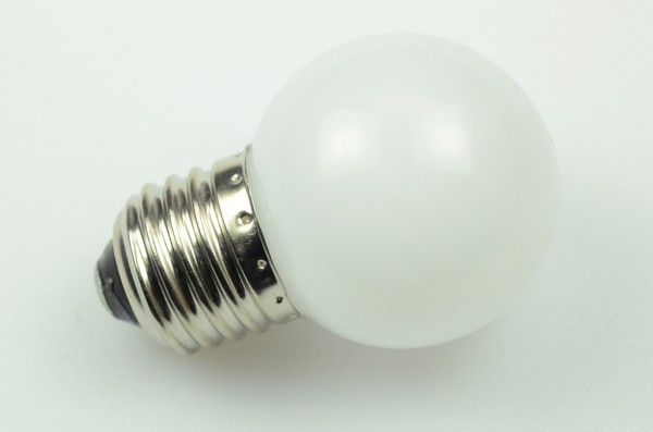 E27 LED-Globe LB45 LED6G4527Lmkw Hochvolt kaltweiss (6000°K) matt. Einsetzbar im Spannungsbereich: 220-240V AC