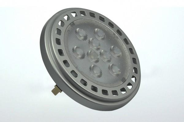 G53 LED-Spot AR111 LED9x1AS Niedervolt DC-kompatibel (gleichstrom-fähig) warmweiss (3000°K) -. Einsetzbar im Spannungsbereich: 12V AC