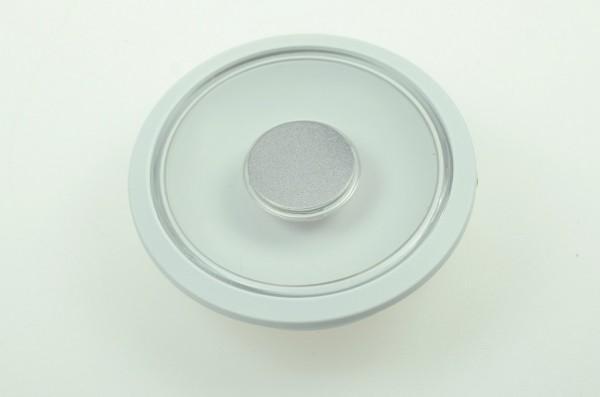 LED-Aufbauleuchte Niedervolt DC-kompatibel (gleichstrom-fähig) LED14DLLTD warmweiss (2700°K) Dimmschalter. Einsetzbar im Spannungsbereich: 10-15V DC
