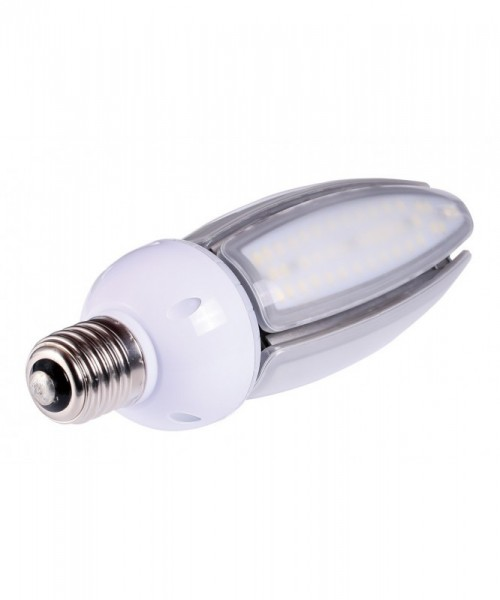 E27 LED-Tubular LED168Tu27LoAM Hochvolt amber (1900°K) IP65, 4KV. Einsetzbar im Spannungsbereich: 100-277V AC