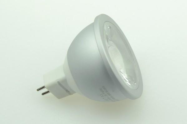 GU5.3 LED-Spot PAR16 LED1x6S53LD Niedervolt DC-kompatibel (gleichstrom-fähig) warmweiss (2700°K) dimmbar, CRI>90. Einsetzbar im Spannungsbereich: 12V AC