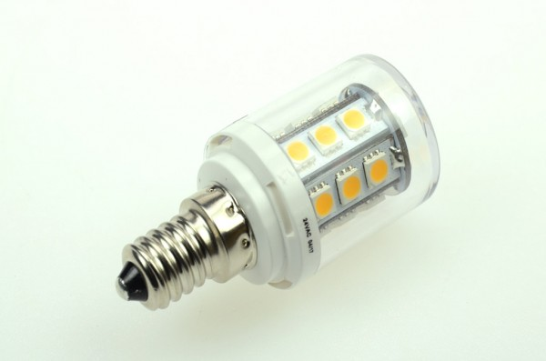 E14 LED-Tubular AC/DC 300 Lumen 300° warmweiss 2,6W dimmbar Green-Power-LED