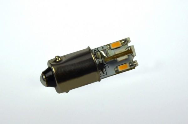 BA9S LED-Bajonettsockellampe LED12STBA9SL Niedervolt DC-kompatibel (gleichstrom-fähig) warmweiss (2700°K) kleine Bauform. Einsetzbar im Spannungsbereich: 12V AC