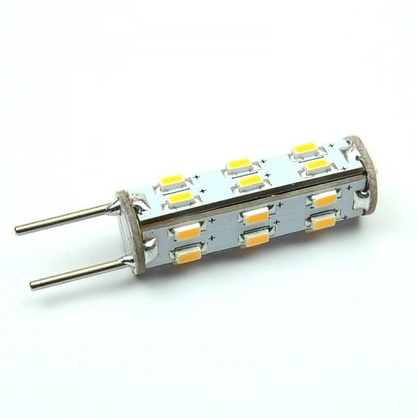 GY6.35 LED-Stiftsockellampe LED27STG6L Niedervolt DC-kompatibel (gleichstrom-fähig) warmweiss (2700°K) dimmbar. Einsetzbar im Spannungsbereich: 10-18V AC