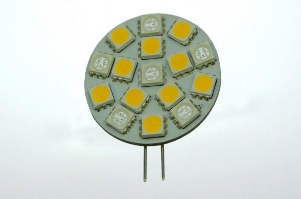 G4 LED-Modul LED16MG4Lwwr Niedervolt DC-kompatibel (gleichstrom-fähig) warmweiss/rot Wechselschaltung. Einsetzbar im Spannungsbereich: 10-18V AC