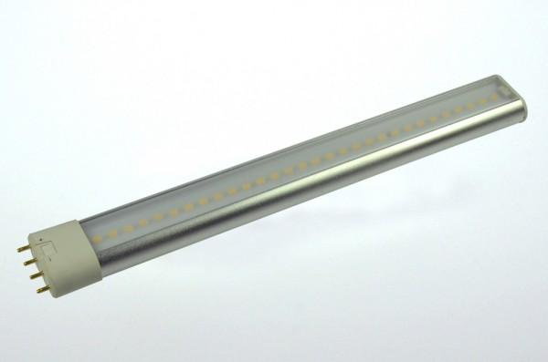 2G11 LED-Kompaktlampe LED48Ko2G11L Hochvolt DC-kompatibel (gleichstrom-fähig) warmweiss (3000°K) inkl. Netzteil. Einsetzbar im Spannungsbereich: 100-240V AC