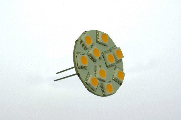 GZ4 LED-Modul AC/DC 160 Lumen 125° warmweiss 1,7W dimmbar, 25mm Pins Green-Power-LED