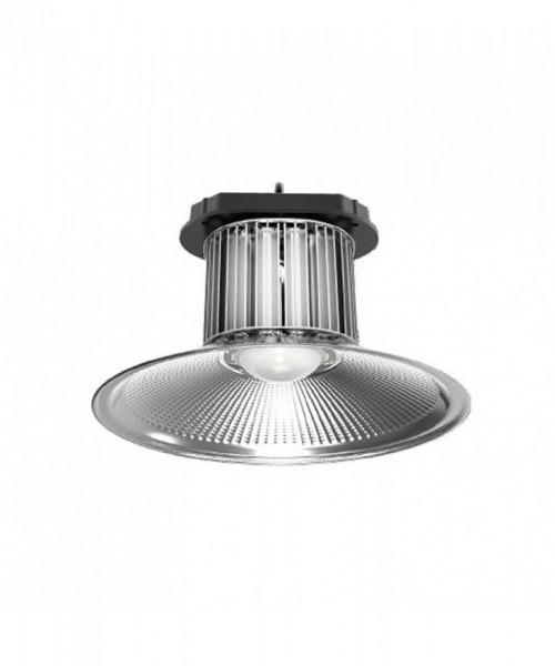 LED-Hallentiefstrahler Hochvolt DC-kompatibel (gleichstrom-fähig) LED150HL722LoNW neutralweiss (4000°K) . Einsetzbar im Spannungsbereich: 85-265V AC 127-350V DC