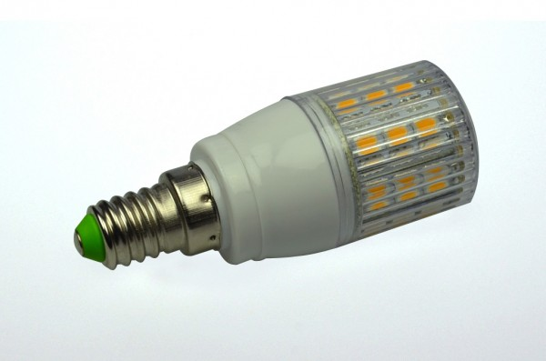 E14 LED-Tubular LED24TU14LNW Hochvolt neutralweiss (4000°K) gekapselt. Einsetzbar im Spannungsbereich: 220-265V AC