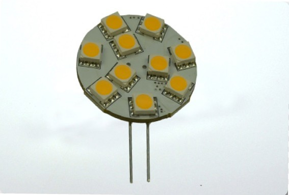 G4 LED-Modul AC/DC 160 Lumen 125° warmweiss 1,7W 15mm Pins Green-Power-LED