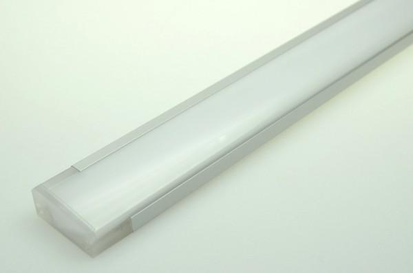 LED-Lichtleiste Niedervolt DC-kompatibel (gleichstrom-fähig) LED72LL-SV warmweiss (3000°K) Sideview. Einsetzbar im Spannungsbereich: 12-16V DC