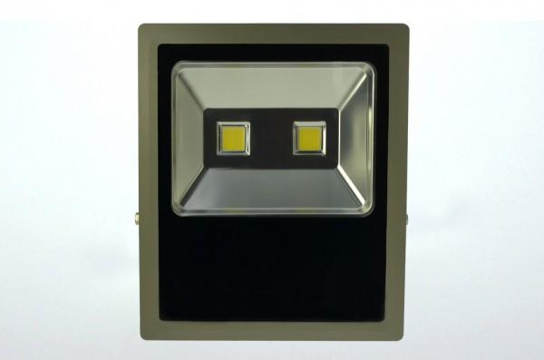 LED-Flutlichtstrahler Hochvolt DC-kompatibel (gleichstrom-fähig) LED150Fx22Lo warmweiss (2700-3000°K) flache Bauweise. Einsetzbar im Spannungsbereich: 100-240V AC 120-230V DC