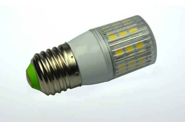 E27 LED-Tubular LED24TU27LNW Hochvolt neutralweiss (4000°K) gekapselt. Einsetzbar im Spannungsbereich: 220-265V AC