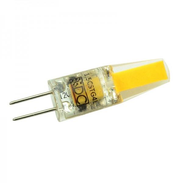 G4 LED-Stiftsockellampe AC/DC 150 Lumen 360° warmweiss 1,5 W dimmbar Green-Power-LED