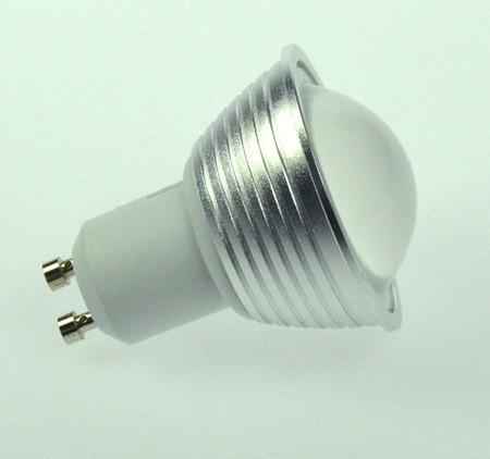 GU10 LED-Spot PAR16 LED9S10LDNW Hochvolt DC-kompatibel (gleichstrom-fähig) neutralweiss (4000°K) dimmbar. Einsetzbar im Spannungsbereich: 180-260V AC
