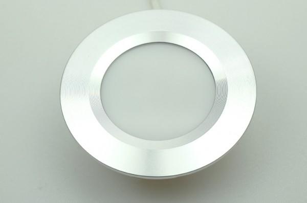 LED-Einbauleuchte Niedervolt DC-kompatibel (gleichstrom-fähig) LED21DL22L warmweiss . Einsetzbar im Spannungsbereich: 10-16V DC