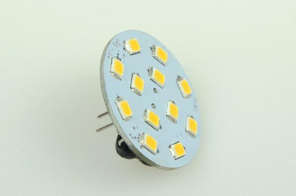 GZ4 LED-Modul LED12MZ4LNW Niedervolt DC-kompatibel (gleichstrom-fähig) neutralweiss (4000°K) CRI>90. Einsetzbar im Spannungsbereich: 10-18V AC