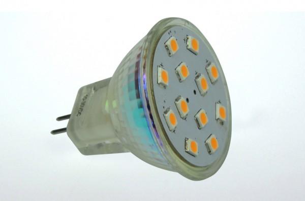GU4 LED-Spot MR11 AC/DC 190 Lumen 125° warmweiss 2W CRI>90 Green-Power-LED