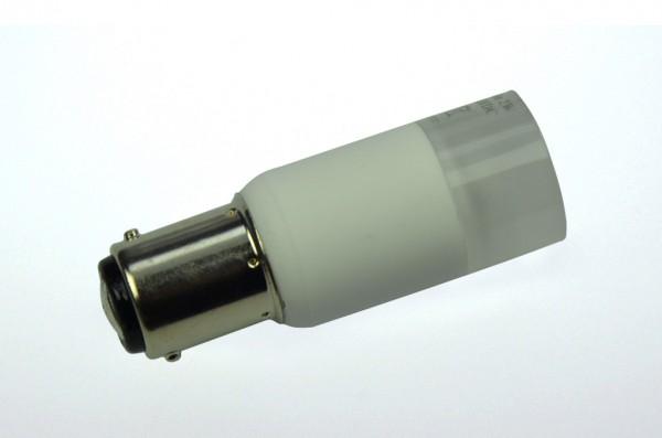 BAY15D LED-Bajonettsockellampe LED3TuBAYL Niedervolt DC-kompatibel (gleichstrom-fähig) warmweiss (2700°K) dimmbar. Einsetzbar im Spannungsbereich: 10-18V AC