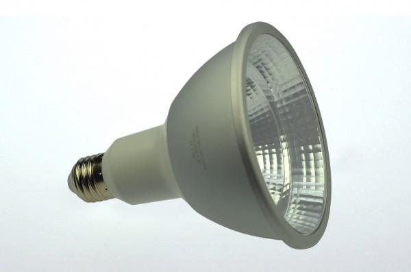 E27 LED-Spot PAR38 LED1x16S27S Hochvolt DC-kompatibel (gleichstrom-fähig) warmweiss (3000°K) CRI 98, IP65. Einsetzbar im Spannungsbereich: 85-265V AC
