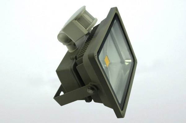 LED-Flutlichtstrahler Hochvolt LED30F22LoB warmweiss (3000°K) . Einsetzbar im Spannungsbereich: 100-240V AC