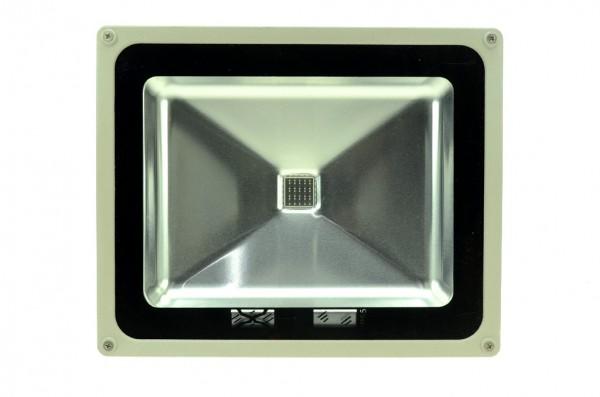 LED-Pflanzenleuchte Hochvolt LED50F22LoRB rot/blau 450/660 Nm Pflanzenzucht/Wachstum. Einsetzbar im Spannungsbereich: 100-240V AC