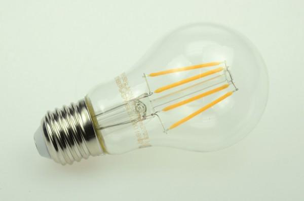 E27 LED-Globe LB60 LED6xFG6027Lk Hochvolt warmweiss (2700°K) . Einsetzbar im Spannungsbereich: 220-240V AC