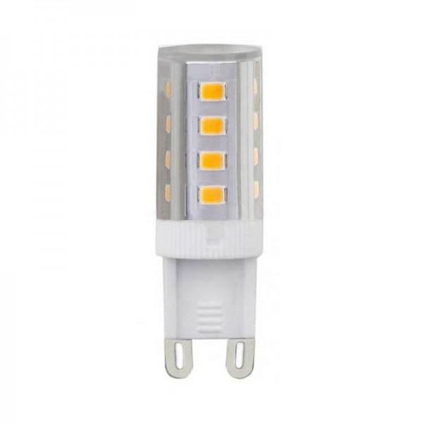 G9 LED-Stiftsockellampe LEDG9Plus Hochvolt warmweiss (2700°K) kleine Bauform. Einsetzbar im Spannungsbereich: 220-240V AC