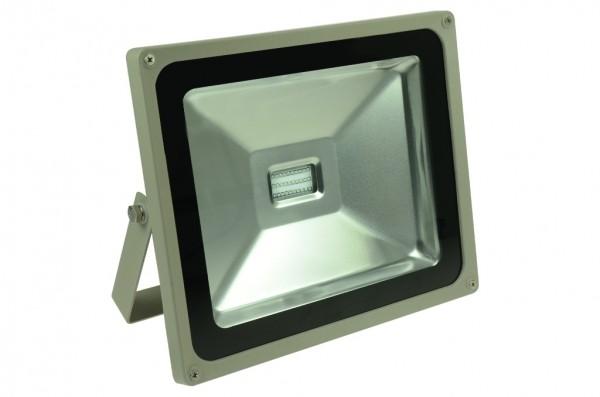 LED-Flutlichtstrahler Hochvolt LED50F22Lblo blau . Einsetzbar im Spannungsbereich: 100-240V AC