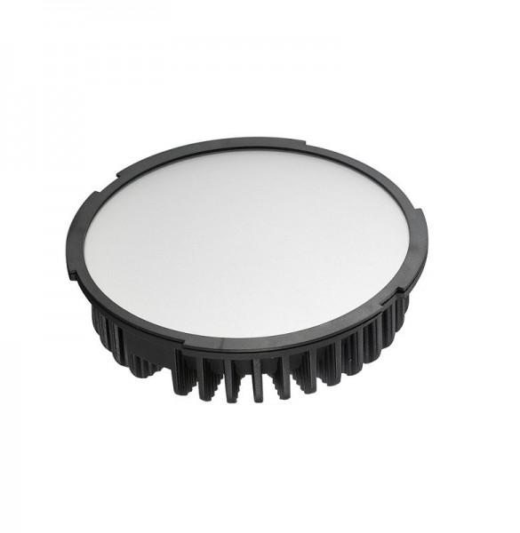 LED-Einbauleuchte Hochvolt LED60DLF22LNW neutralweiss inkl. Netzteil. Einsetzbar im Spannungsbereich: 100-260V AC