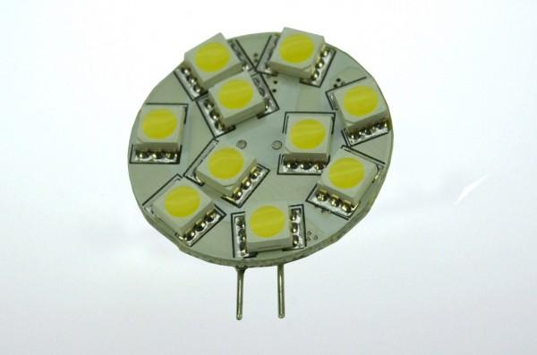 G4 LED-Modul LED10MG4LKW Niedervolt DC-kompatibel (gleichstrom-fähig) kaltweiss (6000°K) dimmbar. Einsetzbar im Spannungsbereich: 10-18V AC