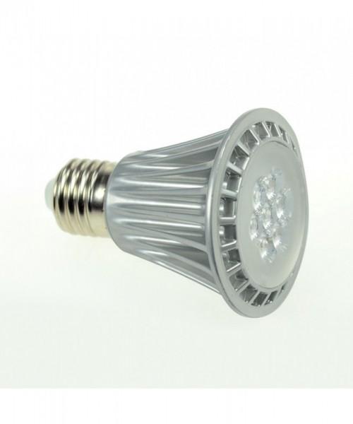 E27 LED-Spot PAR20 LED7x1S27SDKW Hochvolt kaltweiss (6000°K) dimmbar. Einsetzbar im Spannungsbereich: 220-240V AC