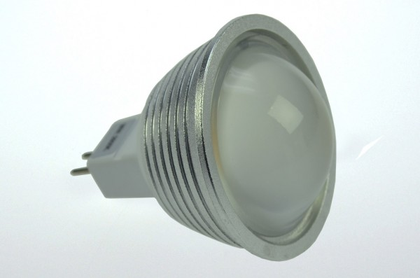 GU5.3 LED-Spot PAR16 LED9S53LD Niedervolt DC-kompatibel (gleichstrom-fähig) warmweiss (2800°K) dimmbar. Einsetzbar im Spannungsbereich: 10-18V AC
