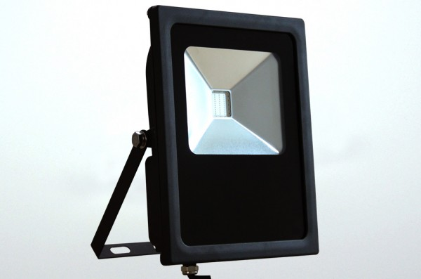 LED-Flutlichtstrahler Hochvolt LED30F22LrgboF RGB RGB Funk. Einsetzbar im Spannungsbereich: 85-265V AC