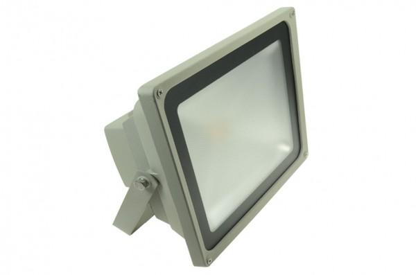 LED-Flutlichtstrahler Hochvolt LED50FS22LoKW kaltweiss (6000°K) . Einsetzbar im Spannungsbereich: 100-240V AC