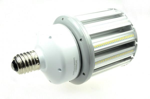 E40 LED-Tubular LED336Tu40LoKW Hochvolt kaltweiss (6000°K) IP64. Einsetzbar im Spannungsbereich: 100-277V AC