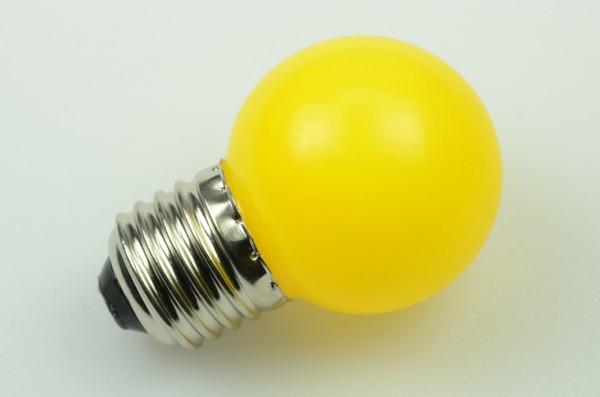 E27 LED-Globe LB45 LED6G4527Lge Hochvolt Gelb . Einsetzbar im Spannungsbereich: 220-240V AC