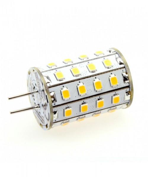 G4 LED-Stiftsockellampe LED48STG4L Niedervolt DC-kompatibel (gleichstrom-fähig) warmweiss (2700°K) dimmbar. Einsetzbar im Spannungsbereich: 10-18V AC